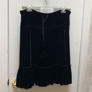 Velvet Joie skirt, medium.